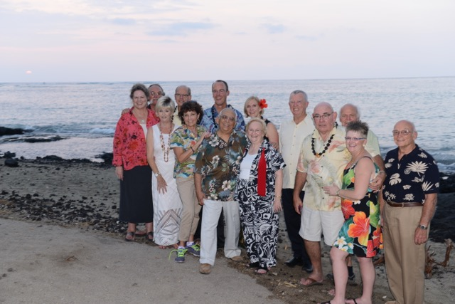 Kahunas at 2015 Institute class reunion dinner