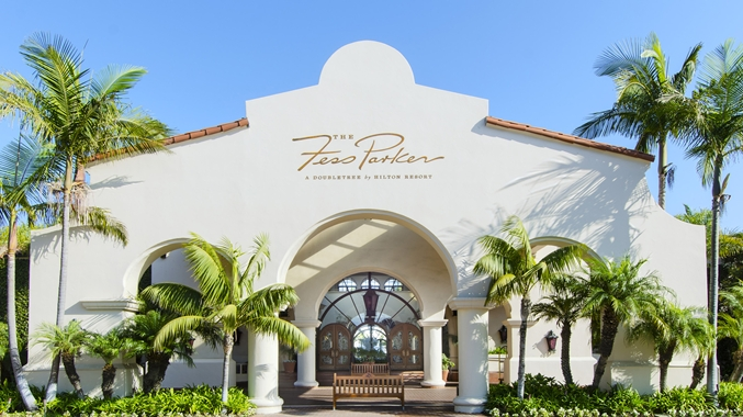 2 Entrance to Fess Parker resort