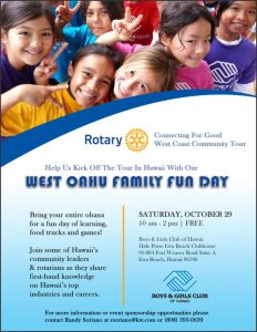 West Oahu Rotary-Boys and Girls Club