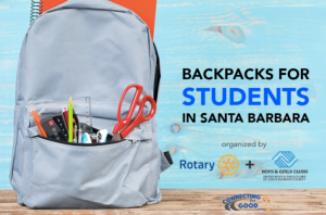 Santa Barbara - student back packs